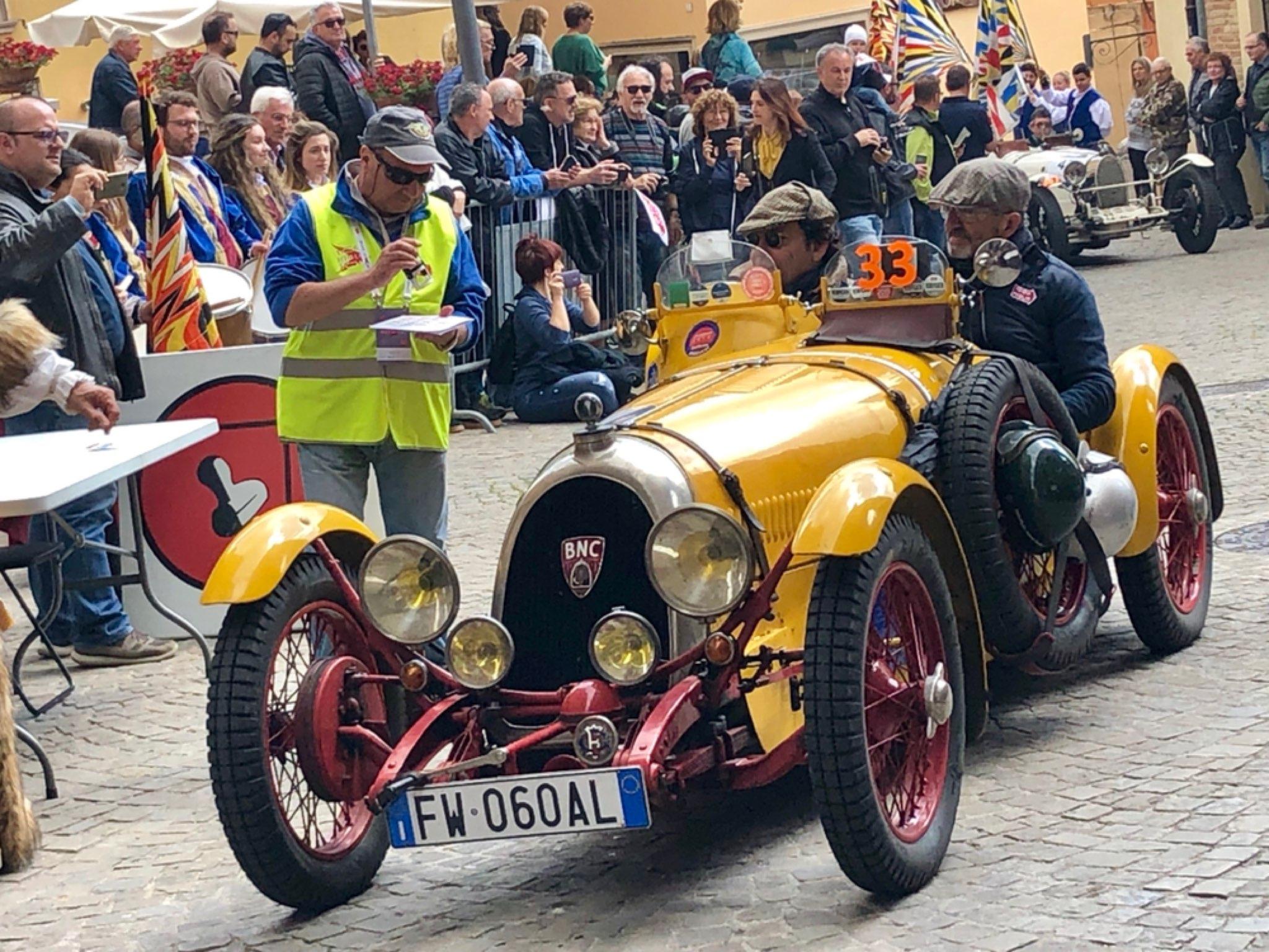 2019 Mille Miglia B.N.C Monza