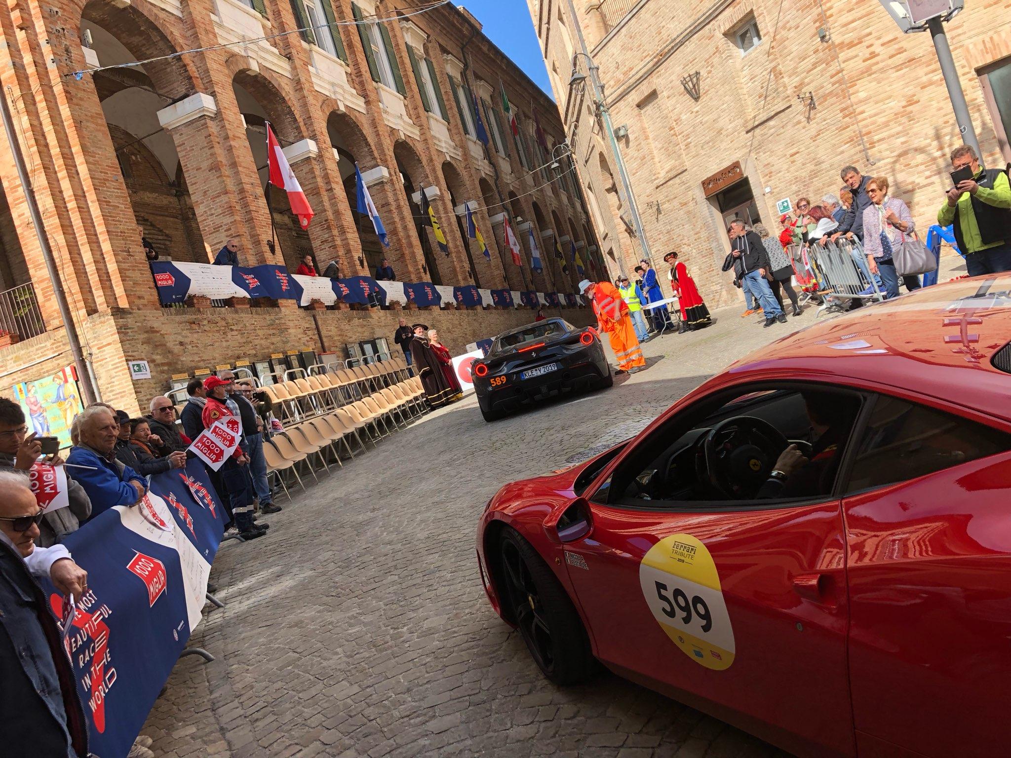 2019 Mille Miglia 1000 Ferrari