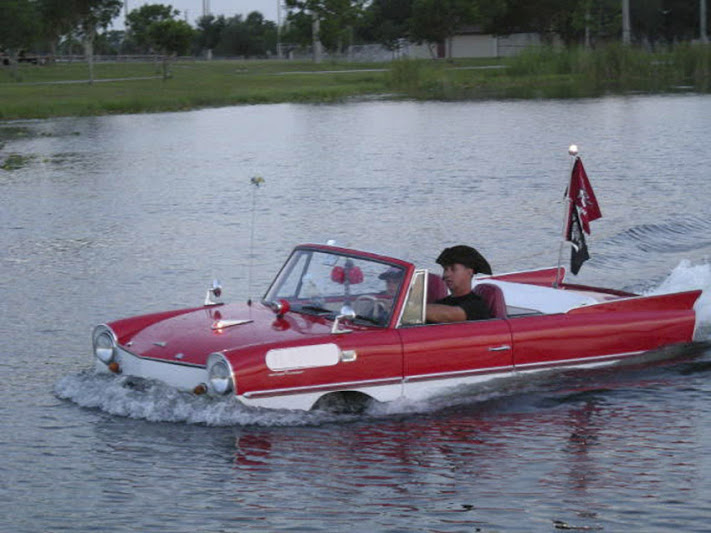 Amphicar to hire BookAclassic wedding, self drive, event car hire