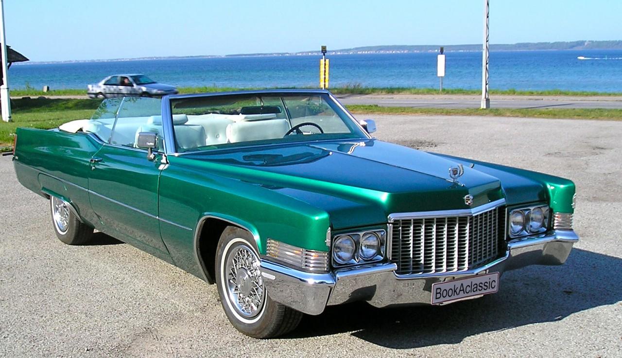 Cadillac De Ville Hire Classic Car Online