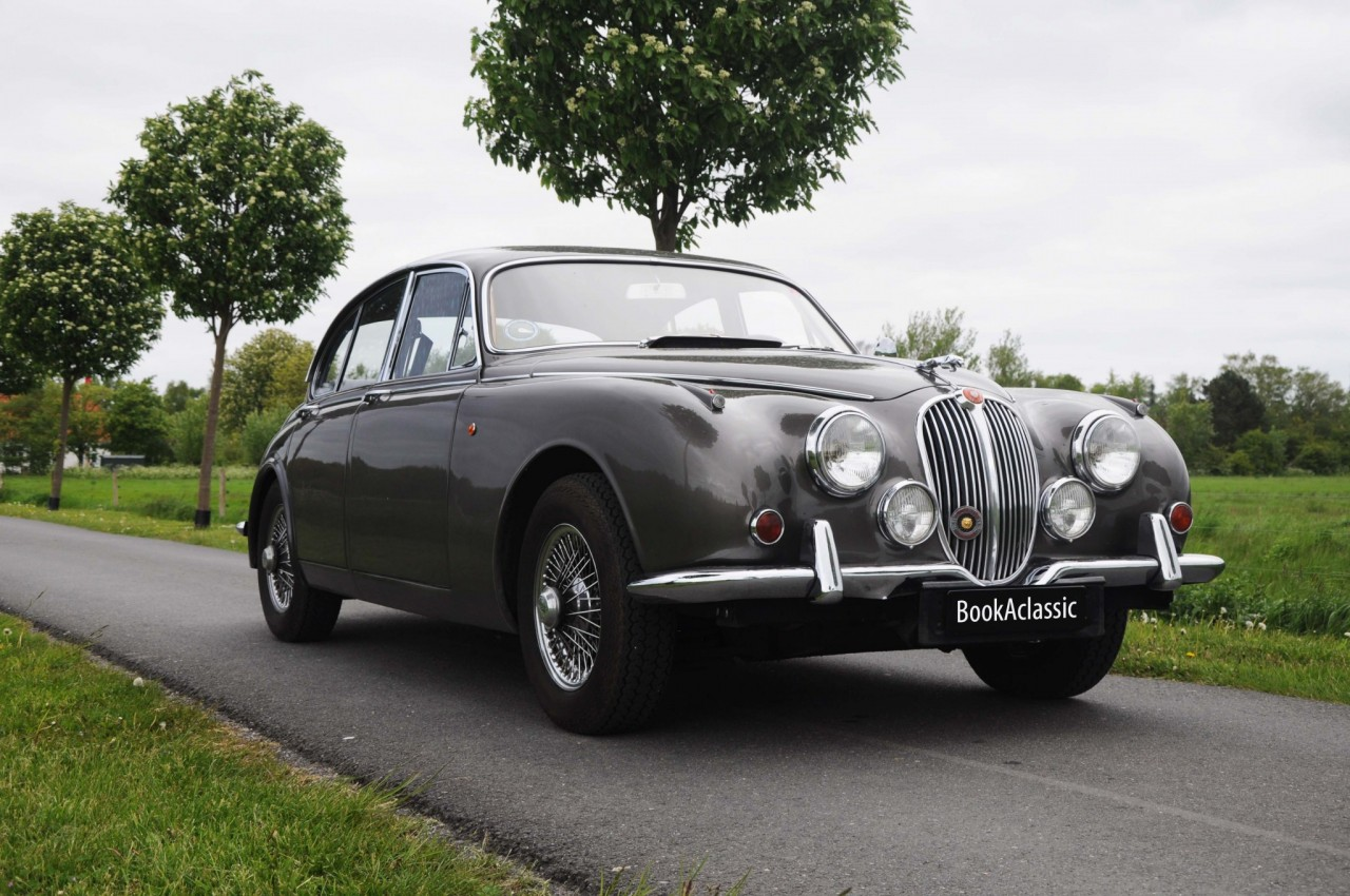 Jaguar Mark II 340 Hire for weddings and events