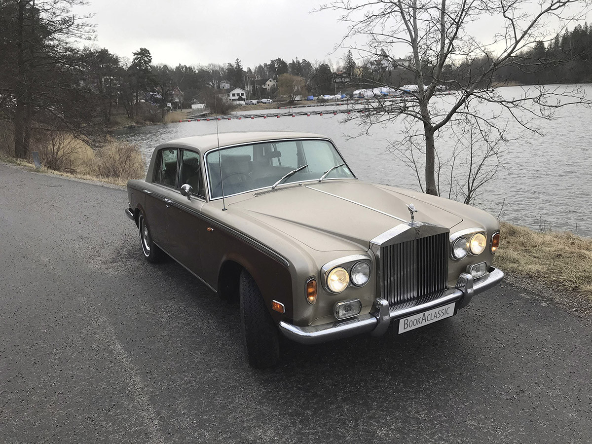 Rolls-Royce Silver Shadow to Hire for wedding and events